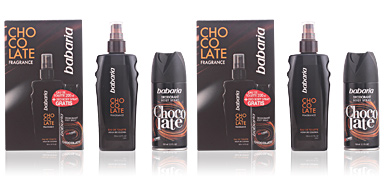 Kit de banho e higiene BABARIA MEN CHOCOLATE FRAGRANCE LOTE Babaria