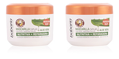 Hair mask for damaged hair ALOE VERA mascarilla capilar nutritiva + reparadora Babaria