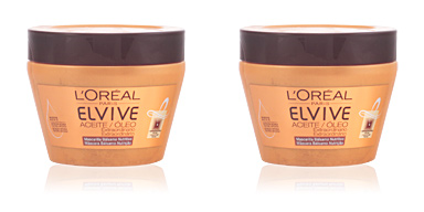 Hair mask for damaged hair ELVIVE aceite extraordinario mascarilla L'Oréal París