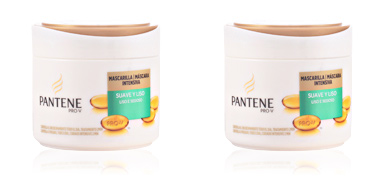 Hair straightening cream SUAVE Y LISO mascarilla Pantene