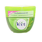 Hair removal wax CERA DEPILATORIA en gel aloe vera piel seca Veet