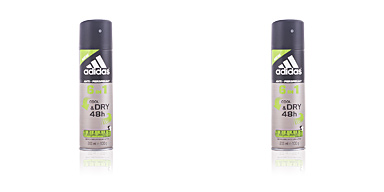 Deodorant COOL & DRY 6 in 1 48H deodorant spray Adidas