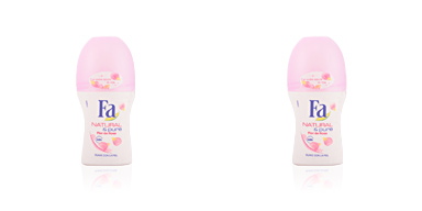 Fa NATURAL& PURE ROSA deo roll-on 50 ml