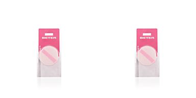 ESPONJA aplicadora cosmética doble polvos 1 pz Beter