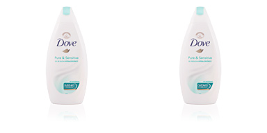 PURE & SENSITIVE gel de ducha hipo-alergénico Dove