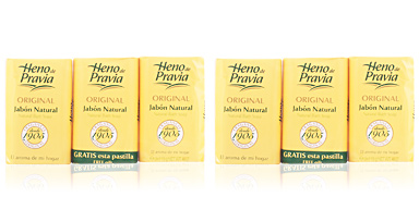 ORIGINAL zeep NATURAL set Heno De Pravia