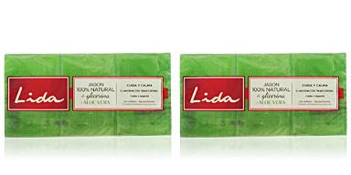 Jabón perfumado JABÓN NATURAL GLICERINA Y ALOE VERA LOTE Lida
