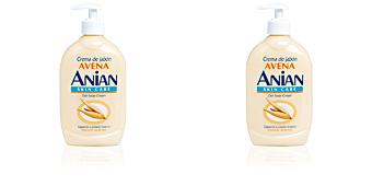 Jabón de manos AVENA crema de jabón especial cuidado manos Anian