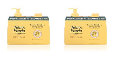 HENO DE PRAVIA crema jabón spender+recambio 250 ml Heno De Pravia