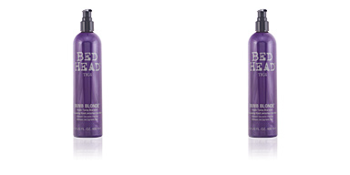 Shampoo für gefärbtes Haar BED HEAD DUMB BLONDE purple toning shampoo Tigi