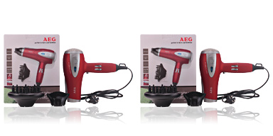 Secador de cabelo SECADOR DE PELO HTD 5584 #rojo Aeg
