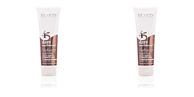 Shampooing couleur 45 DAYS 2 in 1 shampoo & conditioner seducing brunettes Revlon