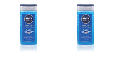Nivea MEN VITALITY FRESH gel de ducha 250 ml