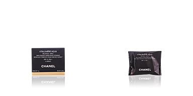 Chanel VITALUMIERE AQUA compact cream refill #60-beige refill 12 gr