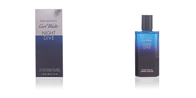 COOL WATER NIGHT DIVE after-shave Davidoff
