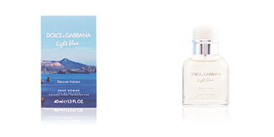 Dolce & Gabbana LIGHT BLUE DISCOVER VULCANO MAN edt vaporizador 40 ml