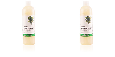 Shampoo for shiny hair CHAMPÚ REVITALIZANTE cola de caballo y salvia Tot Herba
