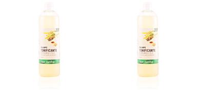 Shampooing hydratant CHAMPÚ TONIFICANTE almendra y tilo Tot Herba