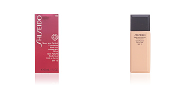 Shiseido SHEER & PERFECT foundation SPF15 #I60-deep ivory 30 ml