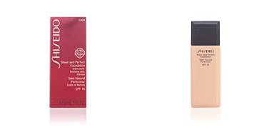 Shiseido SHEER & PERFECT foundation SPF15  #O60-deep ochre 30 ml