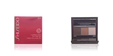 Shiseido LUMINIZING SATIN eye color trio #BR307-strata 3 gr