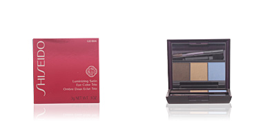 Shiseido LUMINIZING SATIN eye color trio #GD804-opera