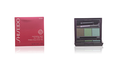 Shiseido LUMINIZING SATIN eye color trio #GR305-jungle 3 gr