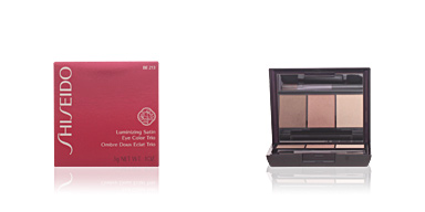 LUMINIZING SATIN eye color trio #BE213-nude Shiseido