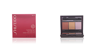 Shiseido LUMINIZING SATIN eye color trio #BR214-into the woods