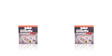 Lames de rasoir CONTOUR PLUS cargador Gillette