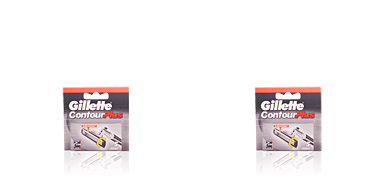 Razor blade CONTOUR PLUS cargador Gillette