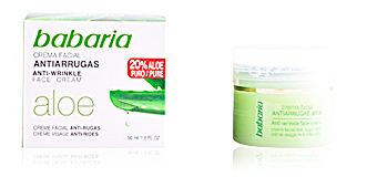 ALOE VERA anti-wrinkle face cream Babaria