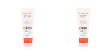 SOLAR ADN crema solar facial aloe vera SPF50 Babaria