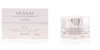 Kanebo SENSAI CELLULAR PERFORMANCE hydrachange tinted gel #01 40 ml