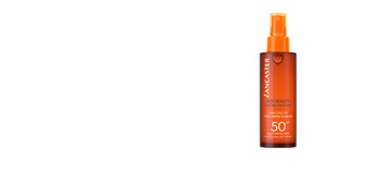 Ciało SUN BEAUTY fast tan optimizer dry oil SPF50 spray Lancaster