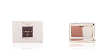 Base maquiagem TERRACOTTA SUN fond de teint crème compact Guerlain