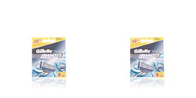 Lames de rasoir GILLETTE MACH 3 TURBO 4 recambios Gillette
