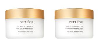 Body moisturiser AROMA NUTRITION crème riche nourrissante corps Decléor