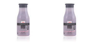 Gel bain LE GOURMAND bath foam #violet cream Aquolina