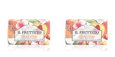 Savon parfumé IL FRUTTETO #peach & melon Nesti Dante