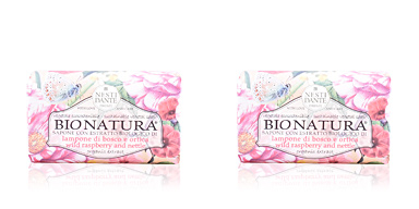 Jabón perfumado BIO NATURA #raspberry & nettle Nesti Dante