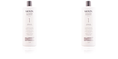 Nioxin SYSTEM 1 shampoo volumizing weak fine hair 1000 ml