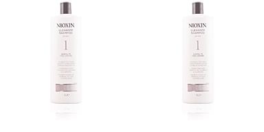 Nioxin SYSTEM 1 shampoo volumizing weak fine hair 1000 ml