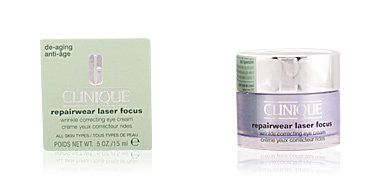 Cremas Antiarrugas y Antiedad REPAIRWEAR LASER FOCUS wrinkle correcting eye cream Clinique