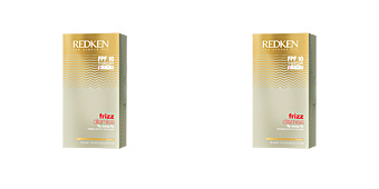 Hair styling product FRIZZ DISMISS fly-away fix Redken
