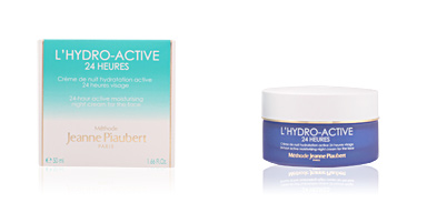 Tratamiento Facial Hidratante L'HYDRO ACTIVE 24 heures crème de nuit hydratation active Jeanne Piaubert