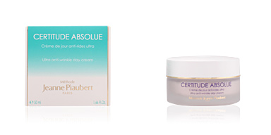 Anti aging cream & anti wrinkle treatment CERTITUDE ABSOLUE crème de jour anti-rides ultra Jeanne Piaubert