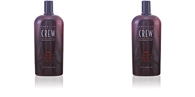 American Crew CREW 3 IN 1 shampoo, conditioner & body wash 1000 ml
