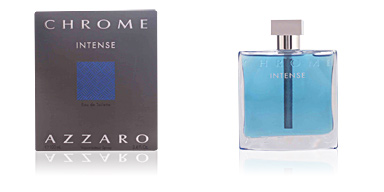 Azzaro CHROME INTENSE eau de toilette vaporizador 100 ml