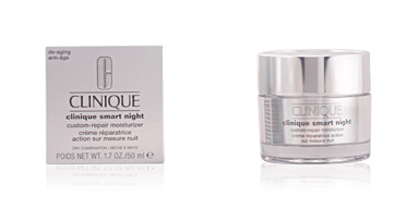 Anti-rugas e anti envelhecimento SMART NIGHT custom-repair moisturizer II Clinique
